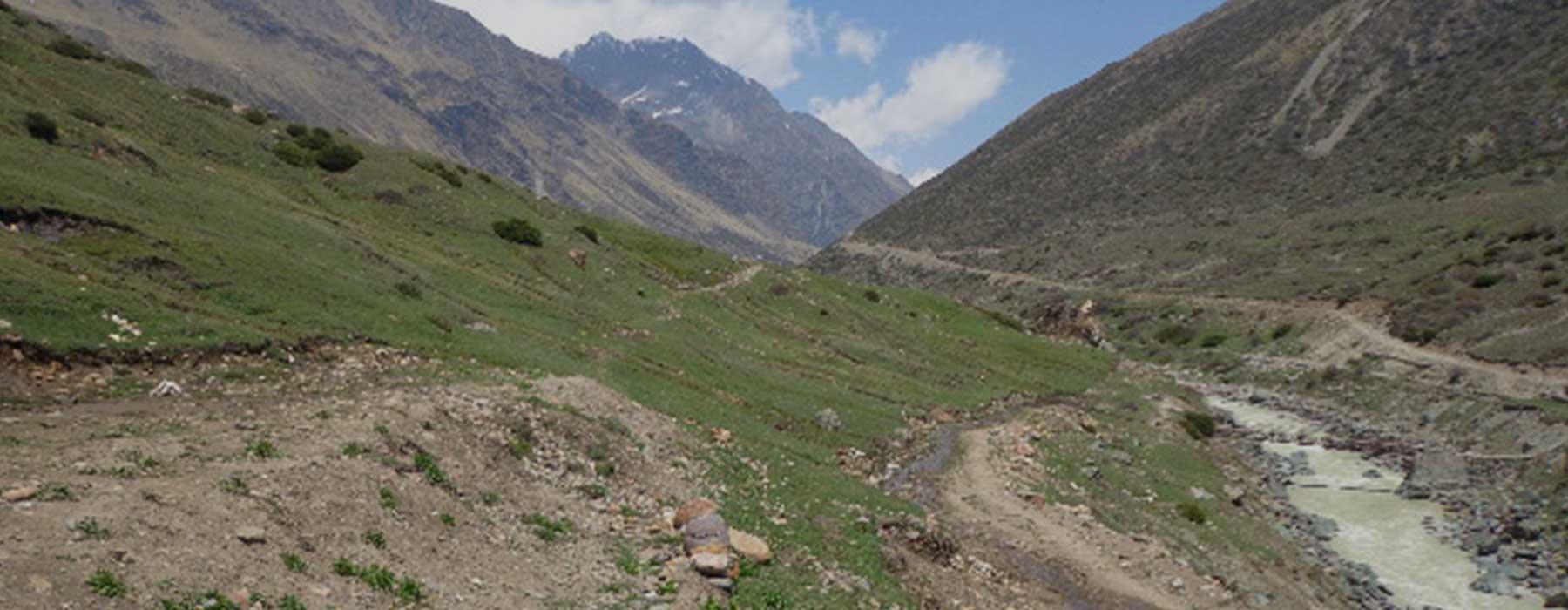 Milam Glacier Trekking Experience